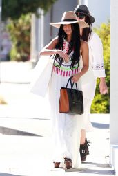 Vanessa Hudgens Shopping at Rebecca Minkoff in West Hollywood, September 2015