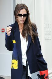 Victoria Beckham Style - Out in London, September 2015