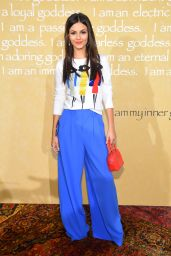 Victoria Justice - Alice + Olivia by Stacey Bendet Fashion Show, September 2015