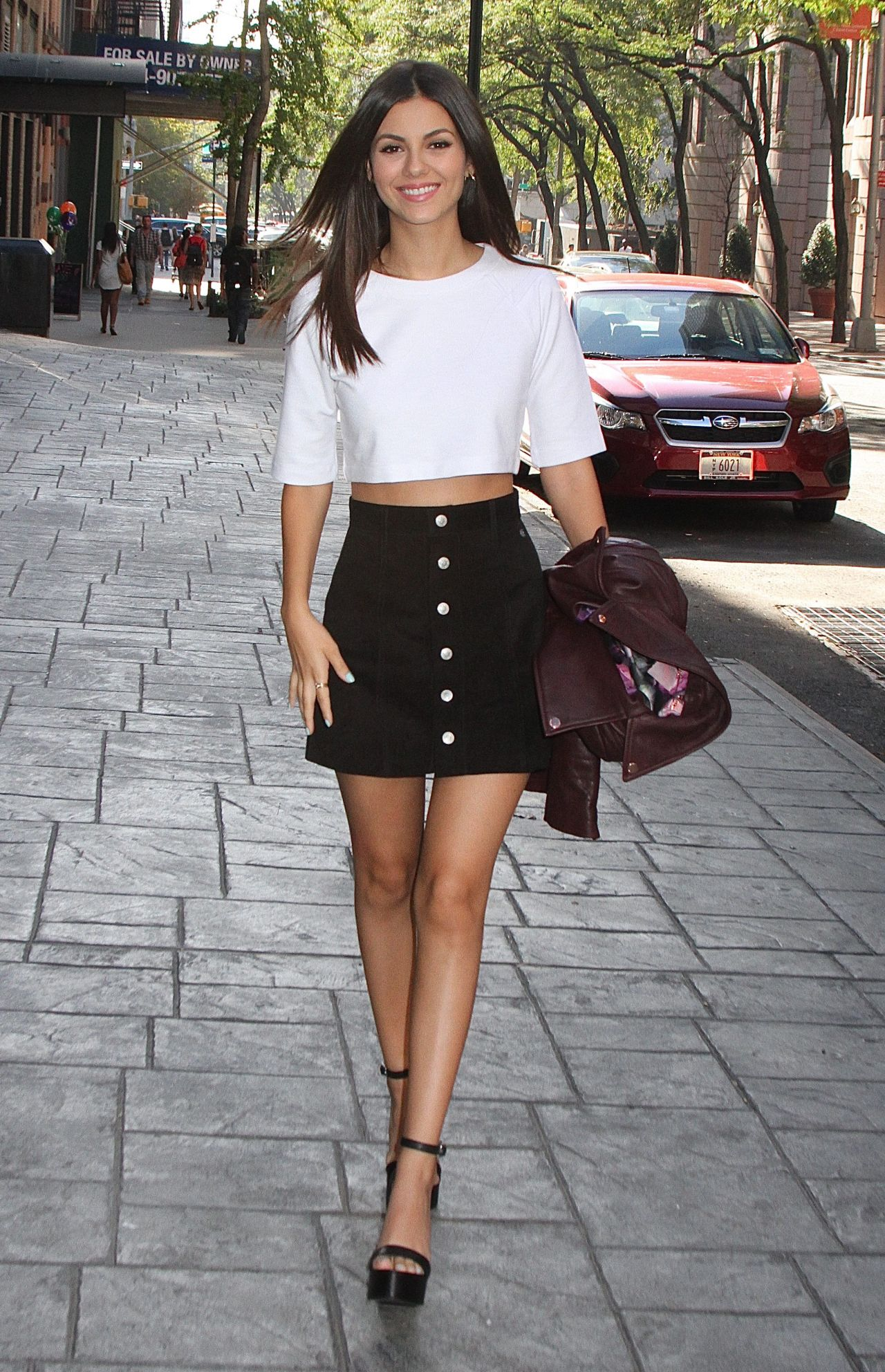 Victoria Justice Fashion - u0026#39;Good Day New Yorku0026#39; in New York City September 2015