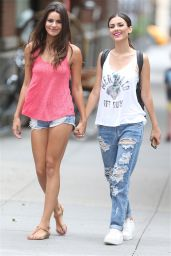 Victoria Justice & Madison Reed - Out in NYC, September 2015