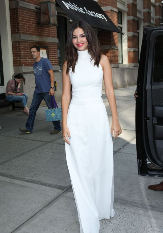 Victoria Justice - Out and About in NYC, August 2015