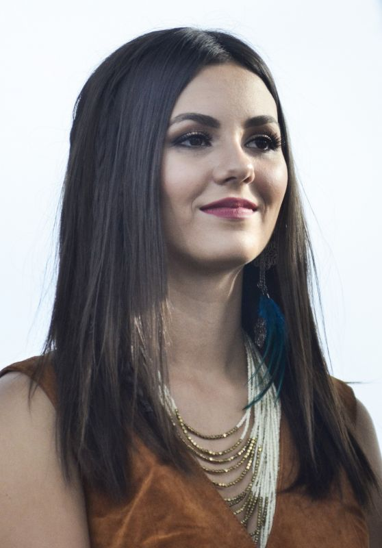 Victoria Justice - Rally For Moral Action On Climate Justice in DC, September 2015