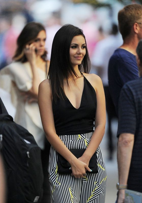 Victoria Justice Style - Out in New York City, September 2015