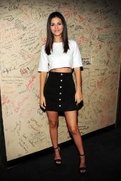 Victoria Justice Tapes an Appearance on