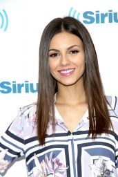 Victoria Justice Visits the SiriusXM Studios in NYC, September 2015