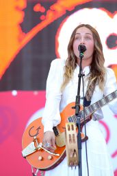 Zella Day - 2015 iHeartRadio Music Festival in Las Vegas
