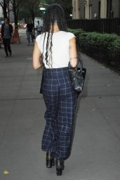 Zoë Kravitz Out in New York City, September 2015