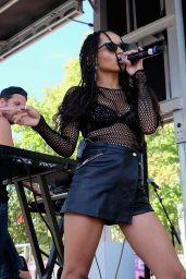 Zoe Kravitz - 2015 Budweiser Made in America Festival in Philadelphia