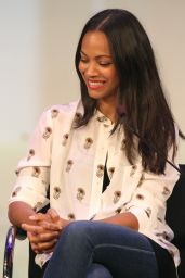 Zoe Saldana - AWXII - Day 2, New York City