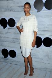 Zoe Saldana - VIP Sneak Peek Of go90 Social Entertainment Platform in Los Angeles