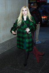 Abigail Breslin - Enters the Today Show Studios in NYC to Promote Her Show Scream Queens