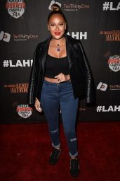 Adrienne Bailon – Griffith Park Haunted Hayride Opening Night in LA