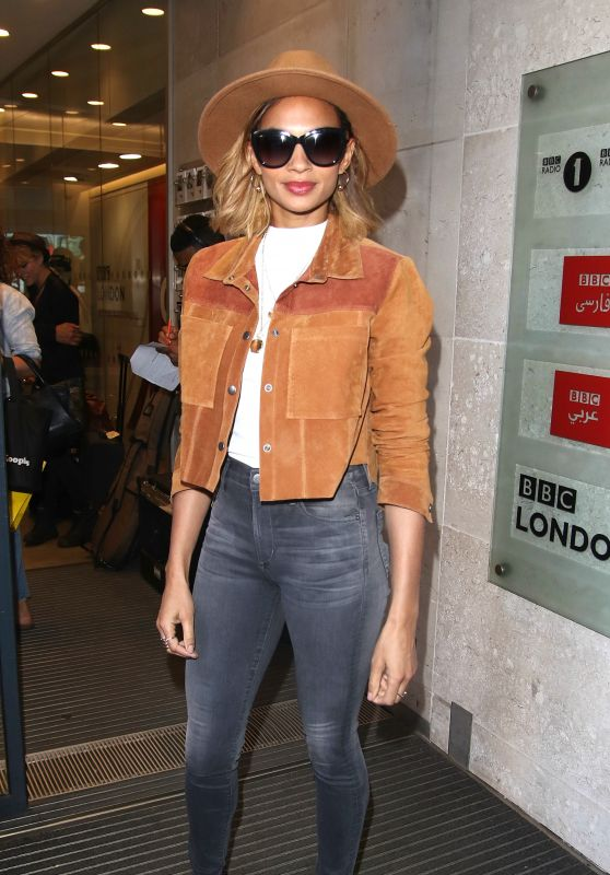 Alesha Dixon - BBC Sudios in London, October 2015