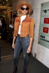 Alesha Dixon - BBC Sudios in London, October 2015