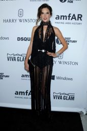 Alessandra Ambrosio – 2015 amfAR's Inspiration Gala Los Angeles in Hollywood