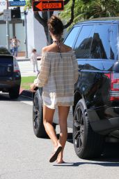 Alessandra Ambrosio - Out in Brentwood, October 2015