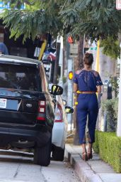 Alessandra Ambrosio - Out in LA, october 2015
