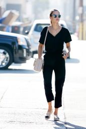 Alessandra Ambrosio - Out in Los Angeles, October 2015