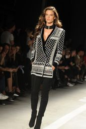 Alessandra Ambrosio - Runway at Balmain x H&M Collection Launch Event in New York