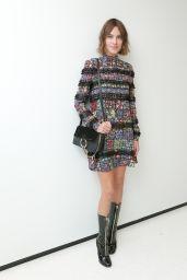 Alexa Chung - CFDA x Vogue Fashion Fund Design Challenge in NYC, October 2015