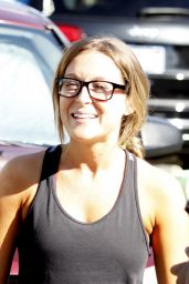 Alexa PenaVega - at the DWTS Studio in Hollywood, October 2015