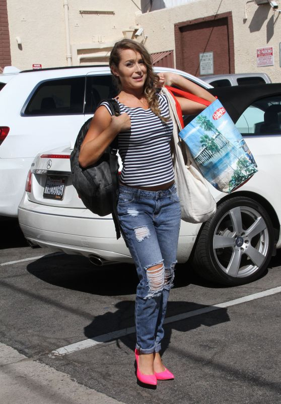 Alexa PenaVega at the DWTS Studio in Hollywood, October 2015