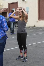 Alexa PenaVega - DWTS Studio in Hollywood 10/27/15