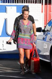 Alexa PenaVega - DWTS Studio in Hollywood, October 2015
