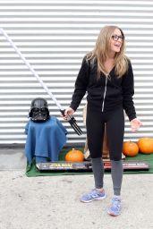 Alexa PenaVega in Tights - DWTS Studio in Hollywood, October 2015
