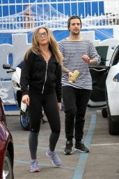 Alexa PenaVega in Tights - DWTS Studio in Hollywood, October 2015