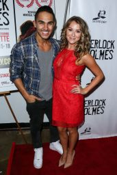 Alexa PenaVega – Sherlock Holmes Premiere in Los Angeles, October 2015