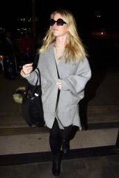 Alice Eve - at LAX Airport in Los Angeles, October 2015
