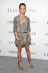 Alicia Vikander – 2015 ELLE Women in Hollywood Awards in Los Angeles