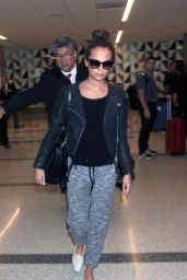 Alicia Vikander at LAX Airport, October 2015