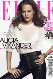 Alicia Vikander - Elle Magazine November 2015 Cover