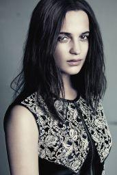Alicia Vikander - Photoshoot for Louis Vuitton 2015