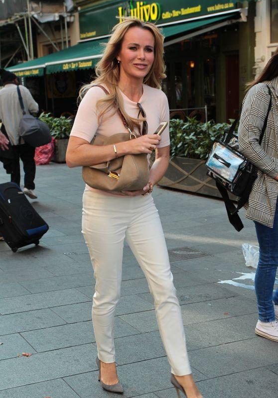 Amanda Holden - at Global House in London, September 2015