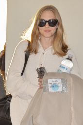 Amanda Seyfried at Narita International Airport in Tokyo, October 2015