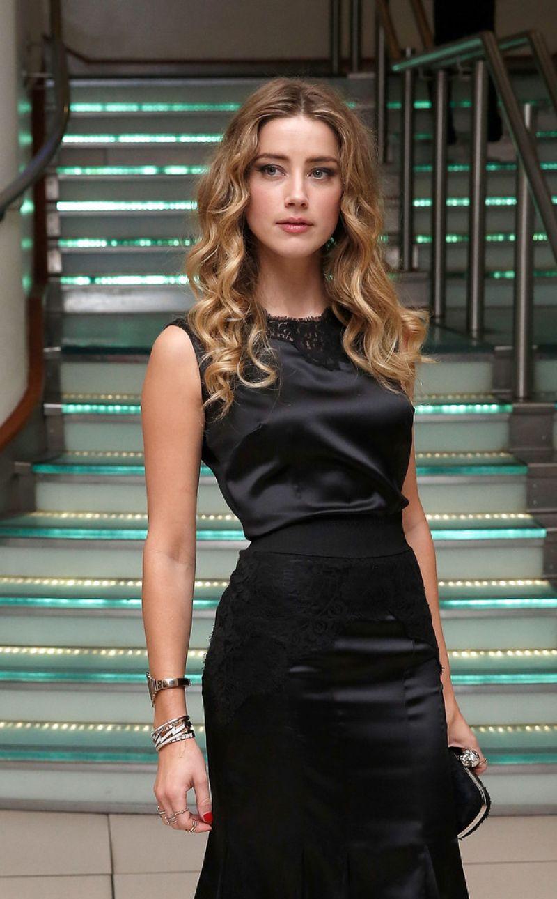 Amber Heard - 'Black Mass' Virgin Atlantic Gala Screening - BFI London ... Amber Heard