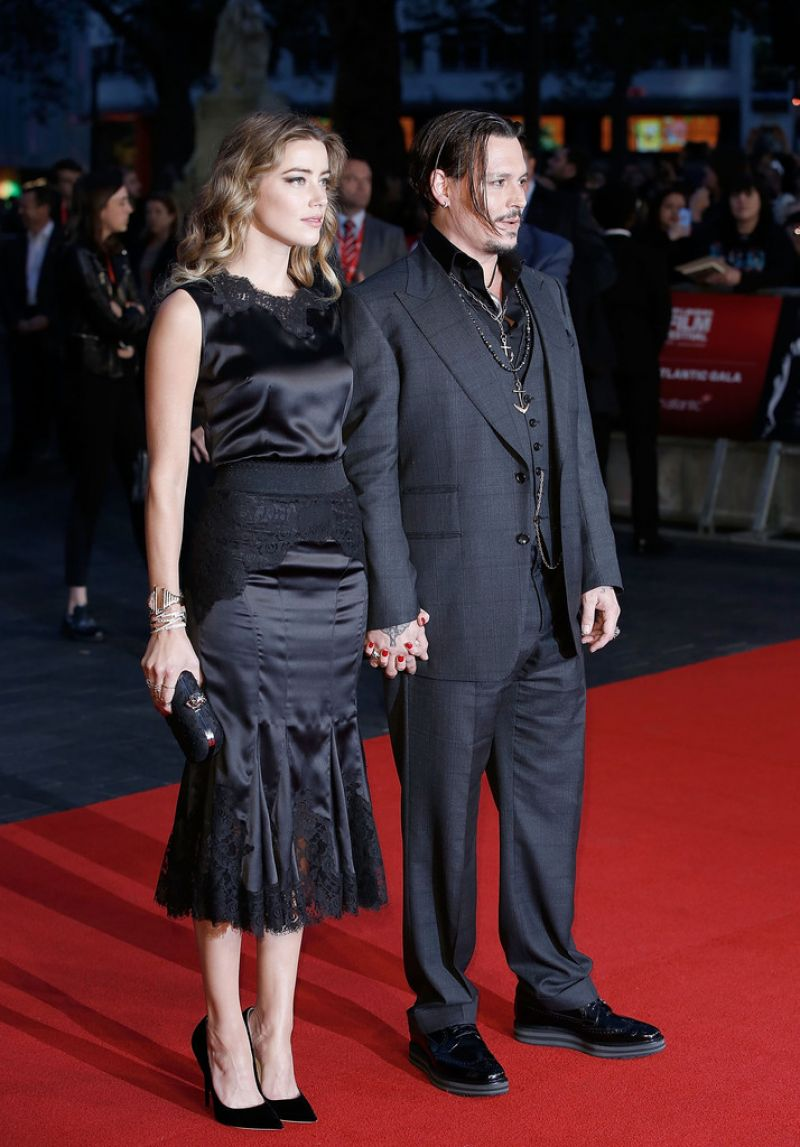 Amber Heard Black Mass Virgin Atlantic Gala Screening