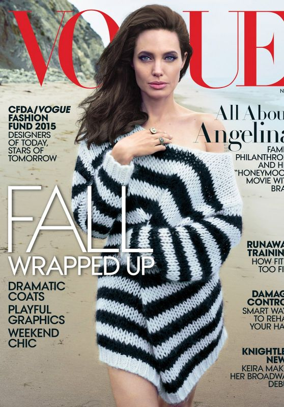 Angelina Jolie - Vogue Magazine November 2015 Cover