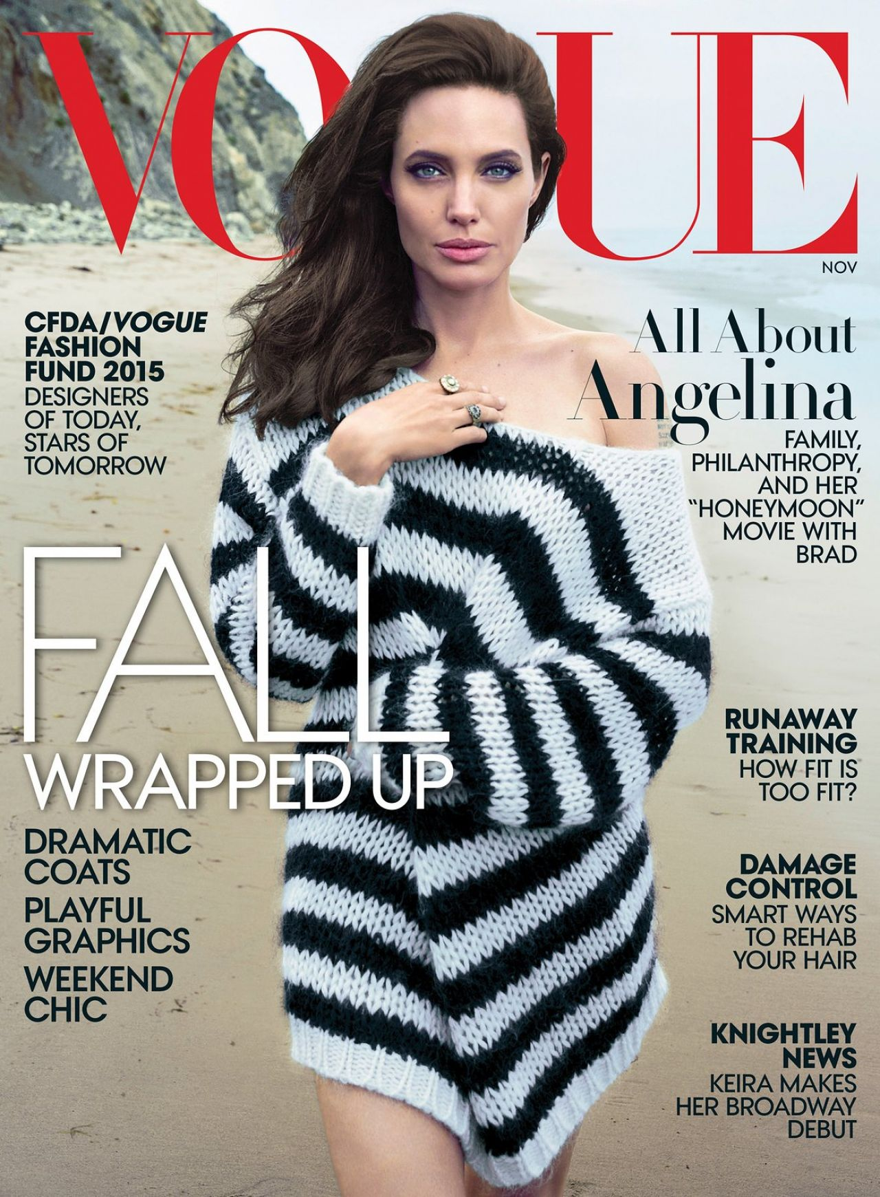 Vogue Magazine Subscription: Vogue Magazine November 2015 Cover