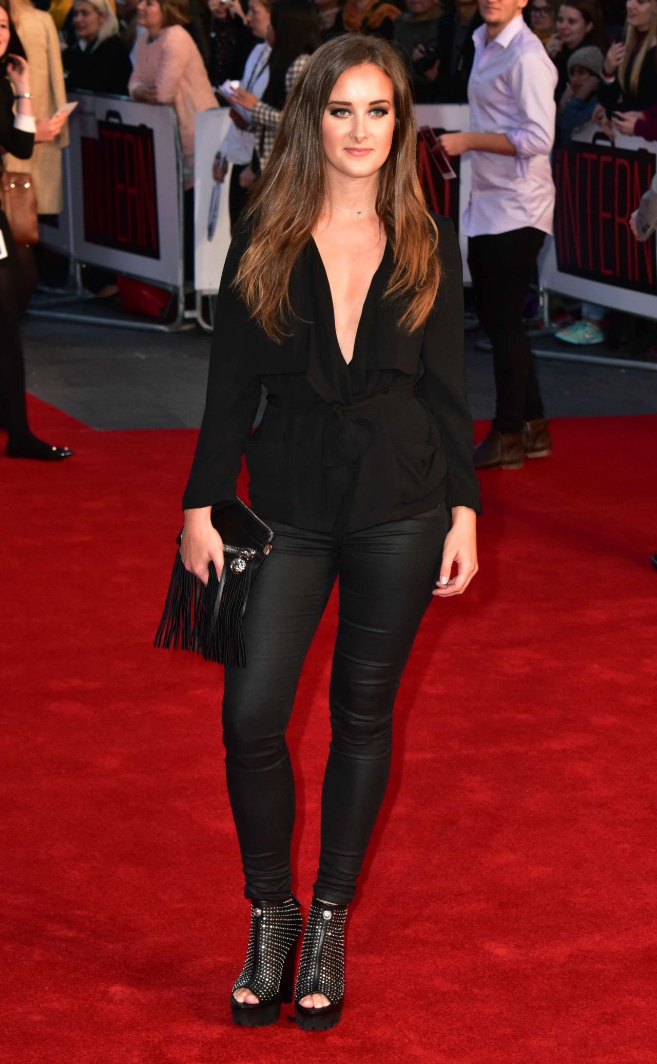 April Pearson The Intern Premiere In London