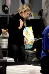 Ashley Benson at LAX Airport in Los Angeles, October 2015