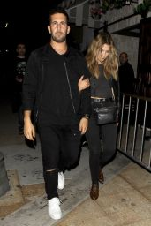 Ashley Benson - Leaving a Night Club in West Hollywood, October 2015