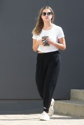 Ashley Benson - Leaving an Office Building in Los Angeles, October 2015