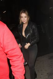 Ashley Benson - Leaving Le Jardin Night Club in Hollywood, October 2015
