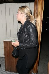Ashley Benson Night Out Style - The Nice Guy in Beverly Hills, September 2015
