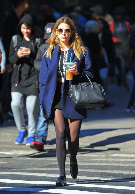 Ashley Benson - Out in New York City, October 2015